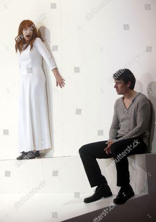 Corinna Harfouch and Alexander Khuon