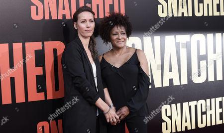 Alex Sykes and Wanda Sykes