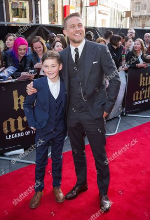 Editorial picture of 'King Arthur: Legend of the Sword' film premiere, Arrivals, London, UK - 10 May 2017
