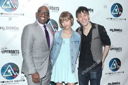 Al Roker, Grace Vanderwaal and Kurt Hugo Schneider