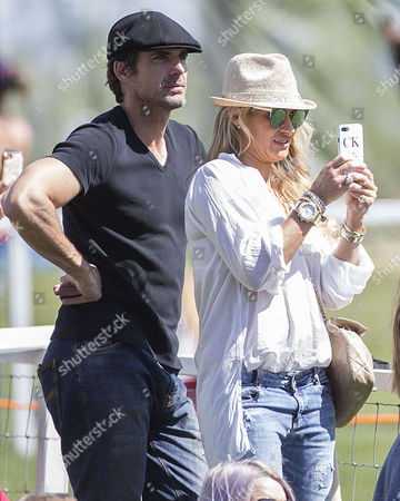 Carla Kyle, ex wife of Jeremy Kyle, attends, as the Royal Windsor Horse Show begins.