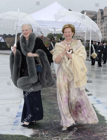 Queen Margrethe II and Queen Anne-Marie