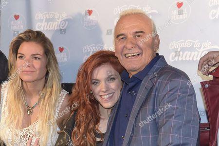 Michel Fugain and Anais Delva