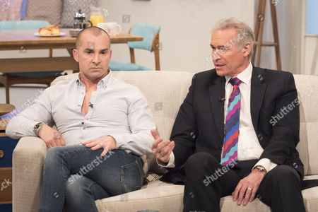 Louie Spence and Dr Hilary Jones