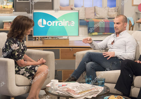 Louie Spence and Lorraine Kelly
