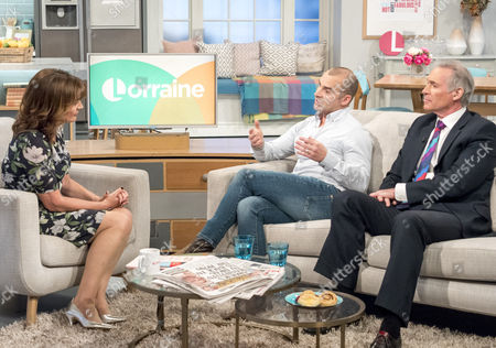 Lorraine Kelly, Louie Spence and Dr Hilary Jones