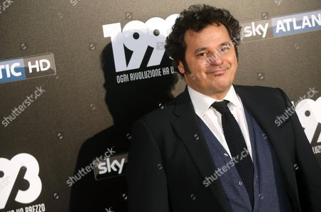 Italian actor Antonio Gerardi poses during a photocall for '1993', Italian Television Series, that will be broadcasted on Sky Atlantic HD in Milan, Itlay, 11 May 2017.