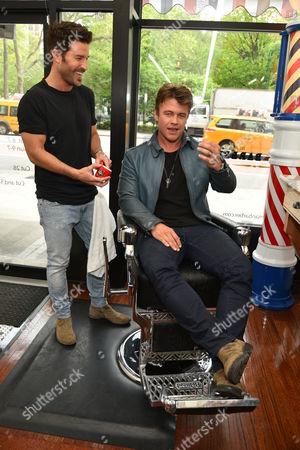 Luke Hemsworth and Benjamin Thigpen