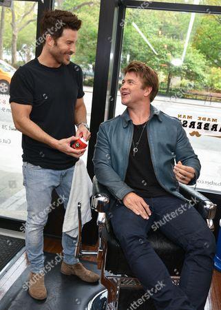 Benjamin Thigpen and Luke Hemsworth