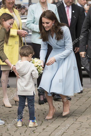 Editorial picture of Catherine Duchess of Cambridge visit to Luxembourg - 11 May 2017