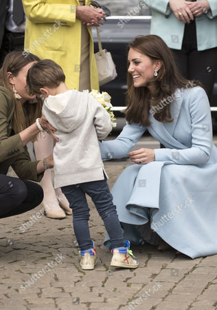 Editorial image of Catherine Duchess of Cambridge visit to Luxembourg - 11 May 2017