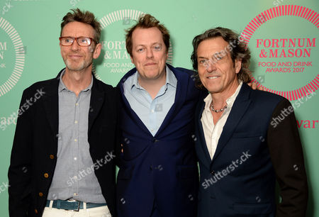 Stock Picture of Oliver Peyton, Tom Parker Bowles and Stephen Webster