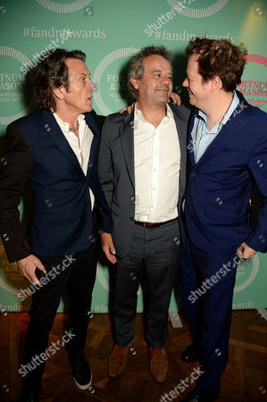 Stock Photo of Oliver Peyton, Tom Parker Bowles and Stephen Webster