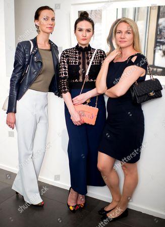 Guest, Olga Timofejeva and Alena Solel