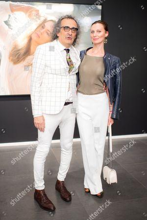 Stock Photo of Yigal Ozeri and Anasta Ivaona