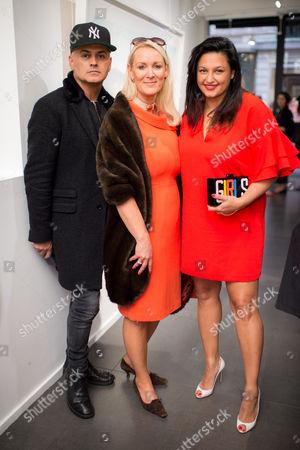 Stuart Watts, Friederike Krum and Kiran Sharma