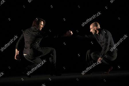 Stock Picture of Joaquin Cortes and Nicolas Rimbaud