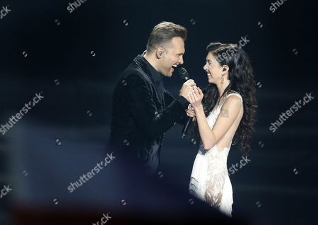 Editorial image of Second Semi Final - 62nd Eurovision Song Contest, Kiev, Ukraine - 11 May 2017