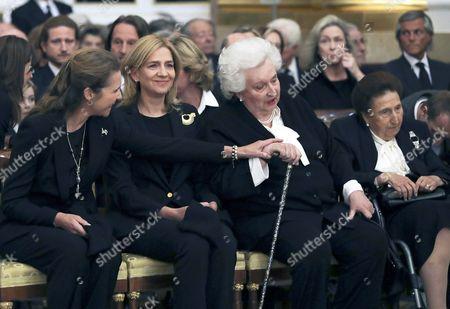 Princess Elena, Princess Cristina, Princess Pilar