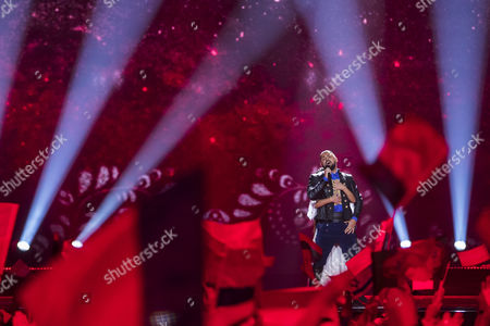 Editorial photo of 62nd Annual Eurovision Song Contest, Second Semi Finals, Kiev, Ukraine - 11 May 2017