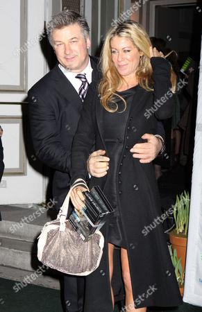 Alec Baldwin and Marci Klein