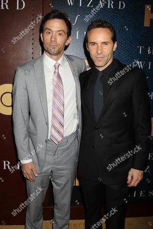 Nathan Darrow and Alessandro Nivola