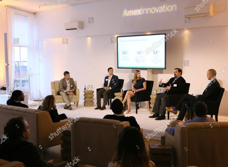 Editorial photo of The American Express Innovation Showcase, New York, USA - 11 May 2017