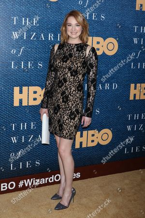 Editorial picture of 'The Wizard of Lies' film screening, Arrivals, New York, USA - 11 May 2017