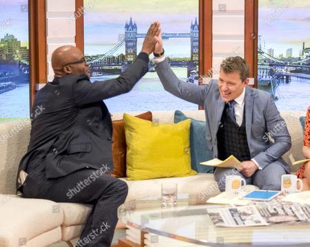 Editorial photo of 'Good Morning Britain' TV show, London, UK - 12 May 2017