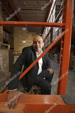 Editorial picture of Shaf Rasul, Managing Director of E-Net Computers Ltd, Edinburgh, Scotland, Britain - 26 Mar 2009