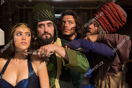 """Editorial image of """"The New Adventures Of Aladdin"""" Film - 2015"""