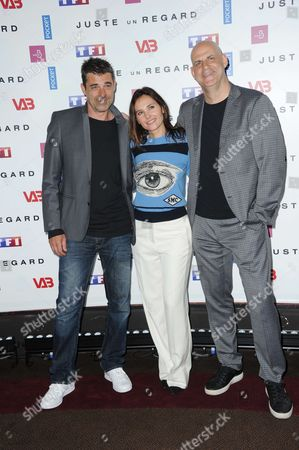 Stock Image of Thierry Neuvic and Virginie Ledoyen and Harlan Coben