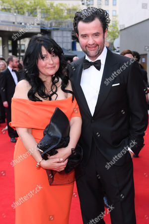 Stock Photo of Daniel Mays and Louise Burton