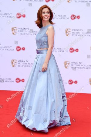 Editorial picture of Virgin TV British Academy Television Awards 2017, Arrivals, Royal Festival Hall, London, UK - 14 May 2017
