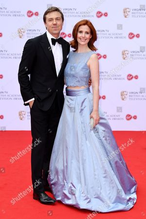 Stock Image of Andrew Buchan and Amy Nuttall