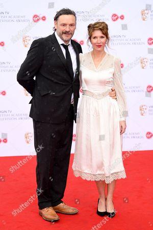 Julian Barratt and Julia Davis