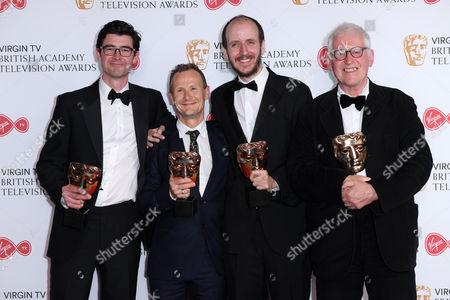 George Ormond, Marc Munden, Jack Thorne and John Chapman - Mini Series - National Treasure