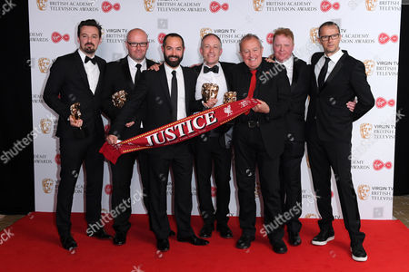Editorial picture of Virgin TV British Academy Television Awards 2017, Press Room, Royal Festival Hall, London, UK - 14 May 2017