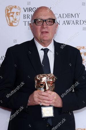 Editorial image of Virgin TV British Academy Television Awards 2017, Press Room, Royal Festival Hall, London, UK - 14 May 2017