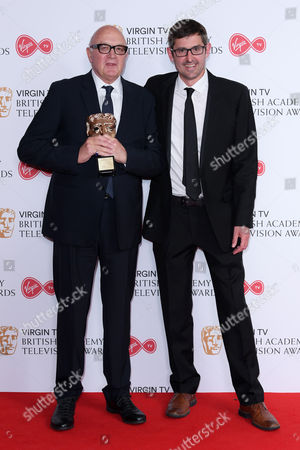 Nick Fraser - Special Award. With Louis Theroux