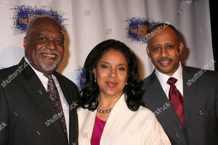 Douglas Turner Ward, Phylicia Rashad, Ruben Santiago-Hudson