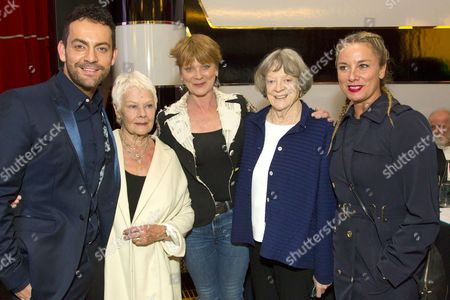 Ben Forster, Judi Dench, Samantha Bond, Maggie Smith and Tamzin Outhwaite