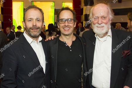 Stock Picture of Harry Burton, Robert Moloney and Michael Wade