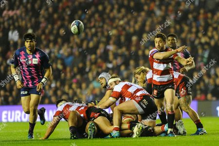 Greg Laidlaw gets Lions call up after the European Rugby Challenge Cup match between Gloucester Rugby and Stade Francais at BT Murrayfield, Edinburgh