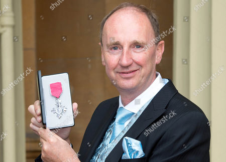 Stock Picture of Jonathan Agnew awarded an MBE
