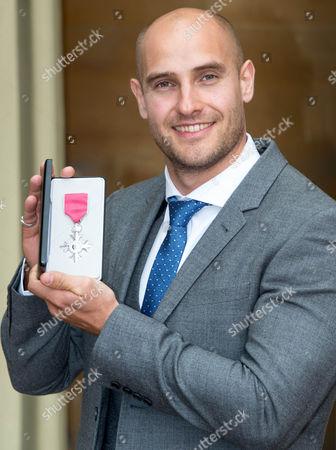 Liam Heath awarded an MBE