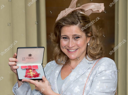 Stock Image of Alison Baum awarded an OBE