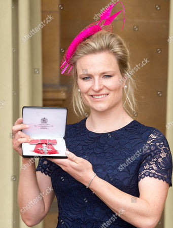 Stock Photo of Hollie Webb awarded an MBE