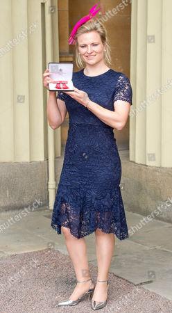 Hollie Webb awarded an MBE