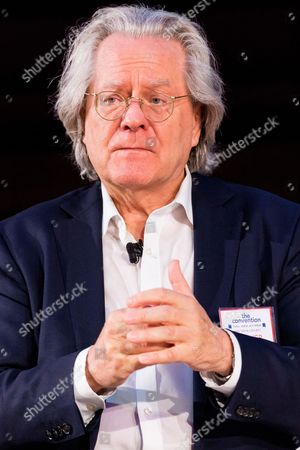 Philosopher AC Grayling speaks at The Convention public debate on the deep impacts of Brexit and the political crash